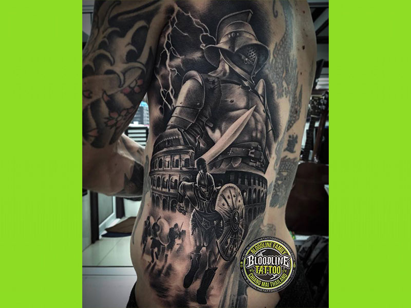 bloodline tattoo chiang mai thailand eatingout map